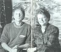 Gro Harlem Brundtland y Frans Widerberg.