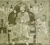 Fernando III el Santo, rey de Castilla y León.