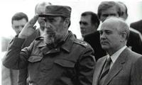 Castro recibió a Gorbachov con todos los honores durante la visita del líder soviético a Cuba, en abril de 1989. Pero las discrepancias entre ambos pronto quedaron en evidencia.