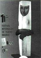 Cartel de Festival Internacional de Teatro de Madrid.