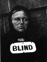 Blind Woman, Nueva York, 1946&lt;br /&gt;<br /> (Aperture Foundation Inc., Paul Strand Archive).