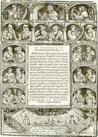 Portada de los Adagia de Erasmo según la edición de Froben de 1523.