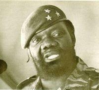 Jonás Savimbi máximo dirigente de UNITA.