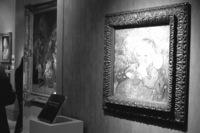 """En primer plano """"Niño con naranja"""" de Vincent Van Gogh, en la Galería Dickinson."""