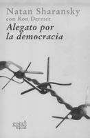 """Portada del libro """"Alegato por la democracia""""."""