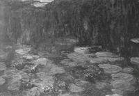 Claude Monet. Las ninfeas, serie de 1904 a 1926, Museo de L'Orangerie, París.