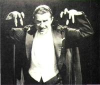 "Bela Lugosi tuvo gran éxito con ""Drácula""."