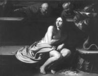 Susana y los viejos. Óleo sobre tela. Colección privada, Madrid.