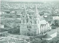 Catedral de Zagreb, en el centro de la zona monumental de la capital de Croacia.
