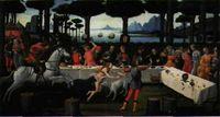 La historia de Nastasio degli Onesti. El banquete. Boticelli. Legado Cambó.