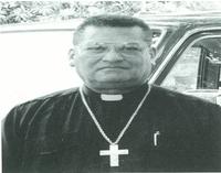 Miguel Obando Bravo, cardenal arzobispo de Managua.