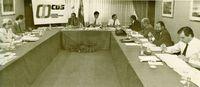 Reunión del Comité Nacional de CDS, en Madrid.