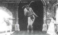 El diablo gigante (1902), de Mélies.