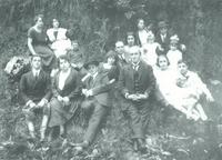 Una familia criolla, año 1928.