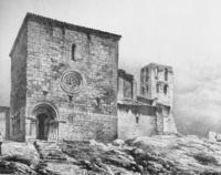 Convento de Santa María del Temple recién demolido, 1861. Valladolid.