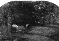 """J. E. Millais """"Ophelia"""""""