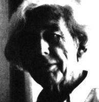 Robert Bresson, cineasta francés recientemente fallecido.