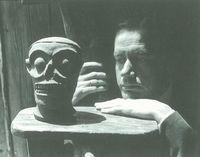 Manuel Álvarez Bravo, Juan Rulfo, en Juan Rulfo, Voces y silencios. Itinerario del Viaje. 2001.