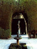 Muestra de jardín Meditteráneo