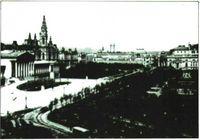 La Ringstrasse hacia la segunda mitad del siglo XIX.