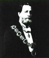 Karl Lueger, precursor de la ideología nazi en Austria.