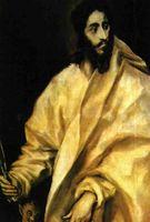 """Lienzo de """"El Greco""""."""