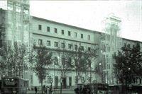 Fachada del Centro de Arte reina Sofía.