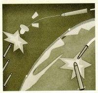 La guerra en el espacio. Nueva generación de misiles antimisiles.
