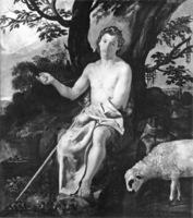 """Diego Velázquez, """"San Juan Bautista en el desierto"""", 1625."""