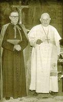 Con S.S. el Papa Juan XXIII.
