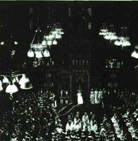 Sesión de apertura del Parlamento Británico en la Cámara de los Lores.