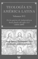 """Portada del libro """"Teología en América Latina""""."""