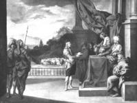 José explica los sueños del Faraón, Antonio del Castillo, óleo sobre lienzo.
