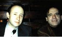El profesor Alex y Miguel Angel Gozalo.