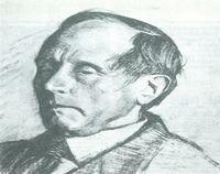 Azorín, retrato de Ignacio Zuloaga.