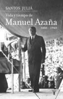 """Portada del libro """"Vida y tiempo de Manuel Azaña"""""""