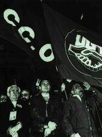 Gestos y actitudes de otros tiempos permanecen en el sindicalismo español.