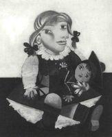 Pablo Picasso. Maya con muñeca, (1938).<br /><br />