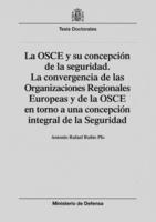 """Portada del libro """"La OSCE y su concepción de la seguridad."""""""