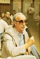 Ferrater Mora en los Cursos de Verano de la Universidad Complutense. El Escorial, 1990.
