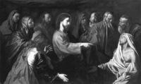 Resurrección de Lázaro. Óleo sobre tela. Museo Nacional del Prado, Madrid.