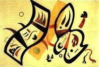 Doble afirmación. 1934 V. Kandinsky.