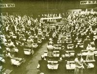 El primer Parlamento Europeo.