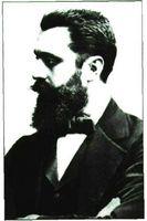 Theodor Herzl, impulsor del sionismo moderno.