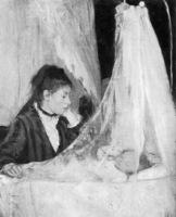 Berthe Morisot, La cuna, 1872.