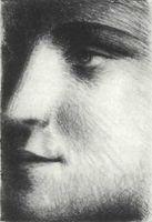 Pablo Picasso, Rostro (Marie-Thérése Walter), 1928.