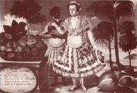 Cuadro de Vicente Albán sobre el mestizaje. Quito 1783.