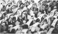 Relojes en venta en el pequeño rastrillo de Tetuán.