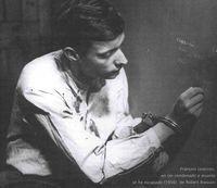 François Leterrier, en Un condenado a muerte se ha escapado (1956), de Robert Bresson.