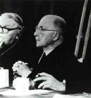 La visión, el coraje y la habilidad del francés Jean Monnet (en el centro) fueron decisivas para la articulación de la Comunidad Europea del Carbón y del Acero (CECA), que dio origen al Tratado de Roma.